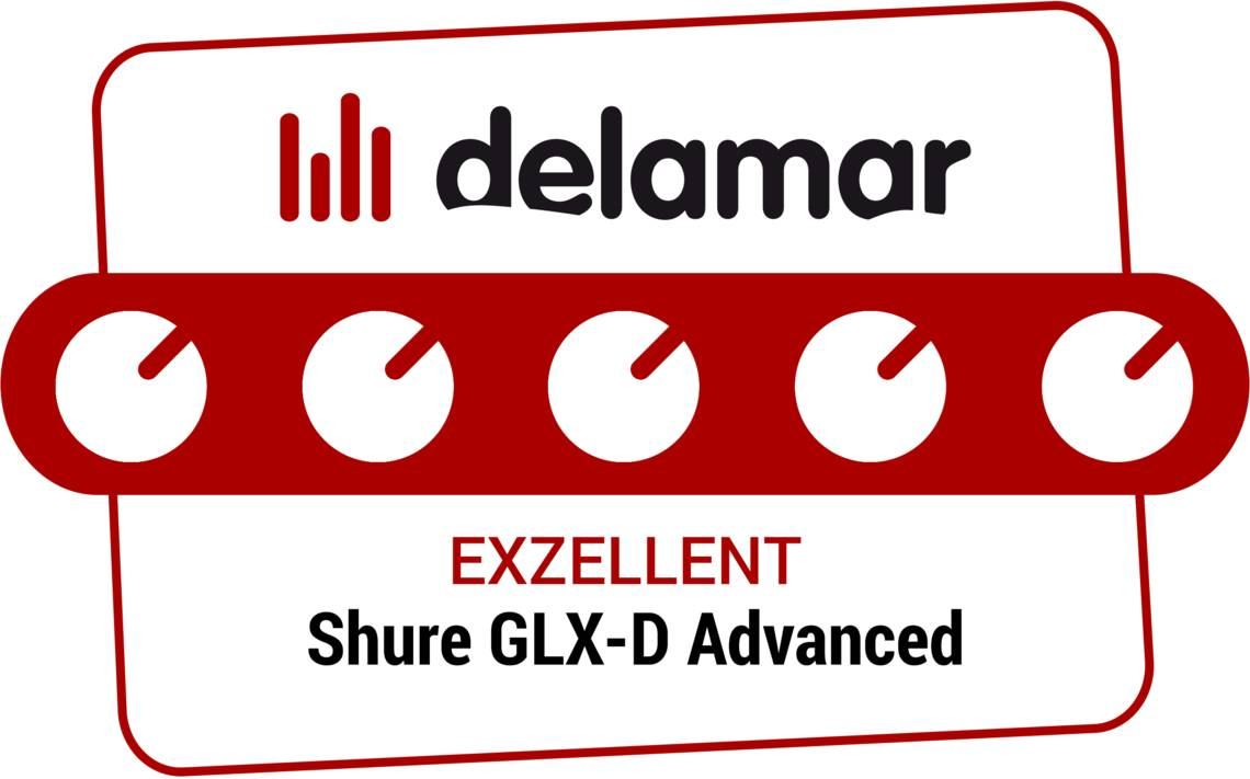 Abbildung Shure GLX-D Advanced Digital Wireless System