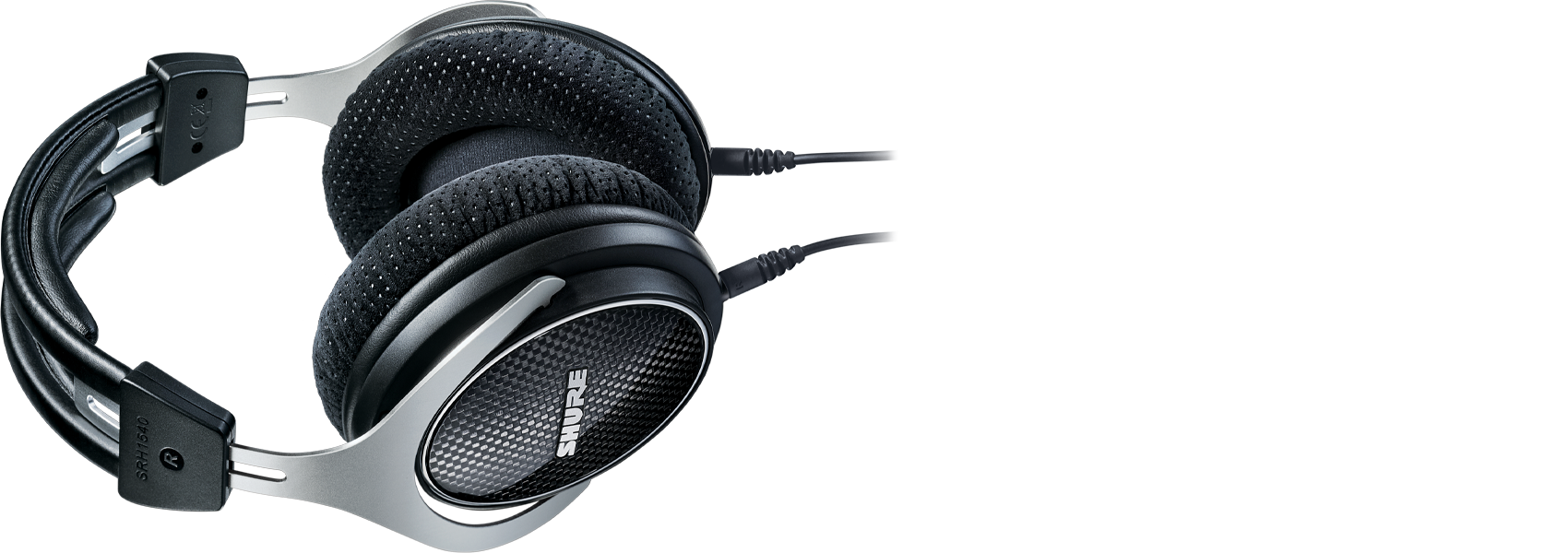 Illustration Shure SRH1540 Premium closed-back Headphones
