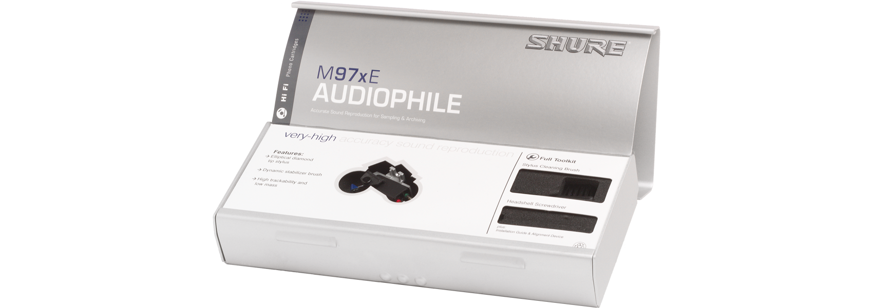 Illustration Shure M97xE Cellule phonographe