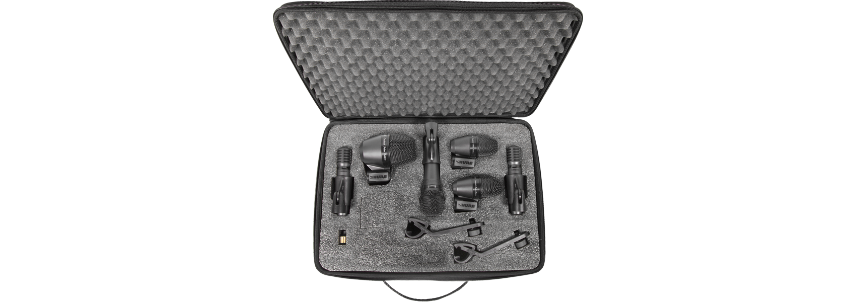 Illustration Shure PG Alta Drum Microphone Kit 6 – The extended package