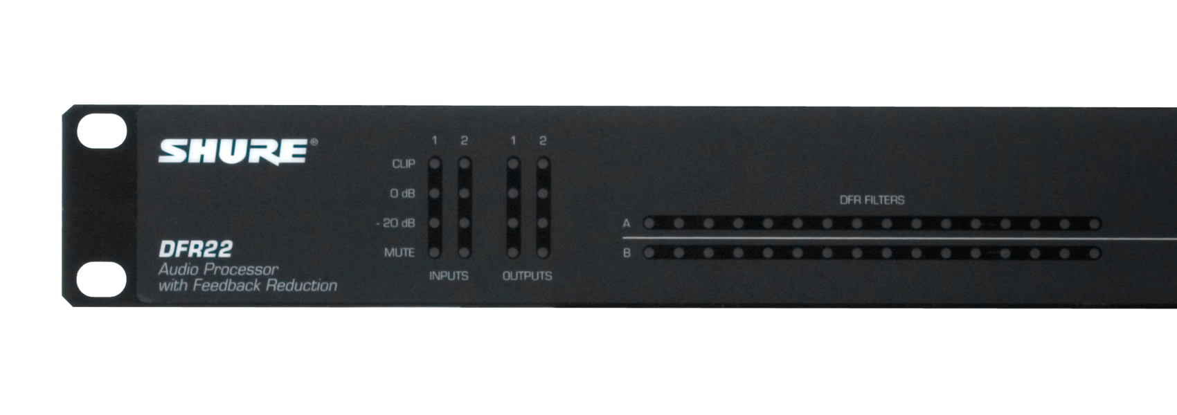 Illustratie Shure DFR22 audio processor