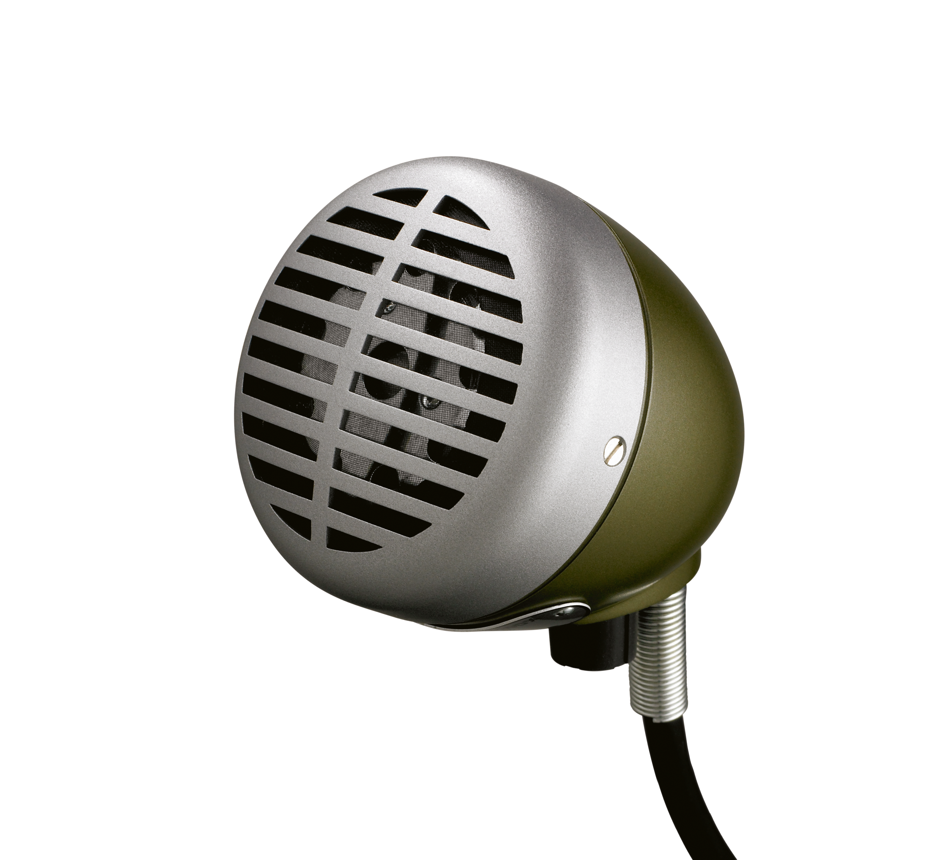 Illustration Shure Microphone for Harmonica