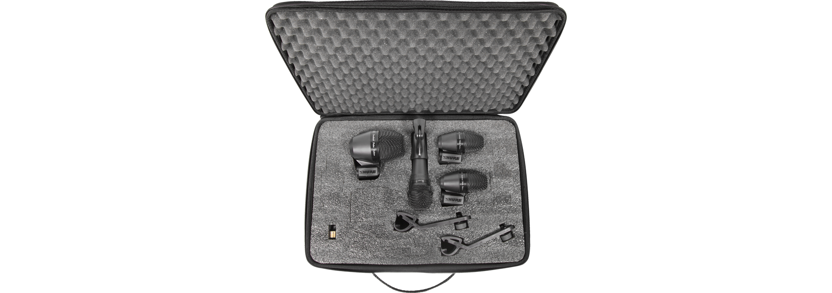Illustration Shure PG Alta Drum Microphone Kit 4 – The essential package