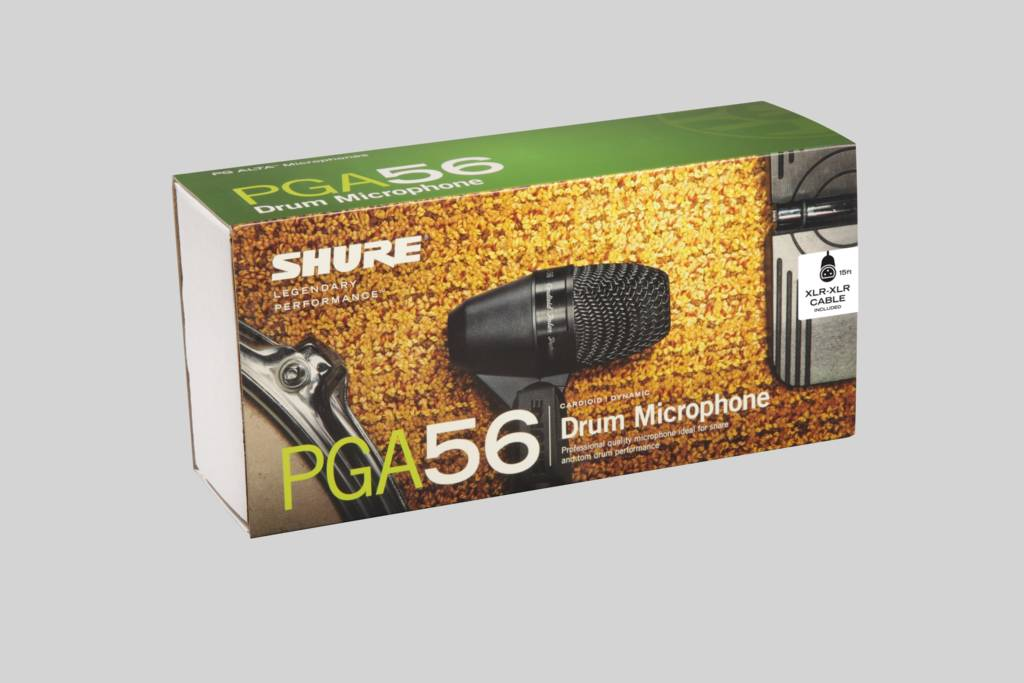 Illustration Shure Cardioid Dynamic Snare/Tom Microphone