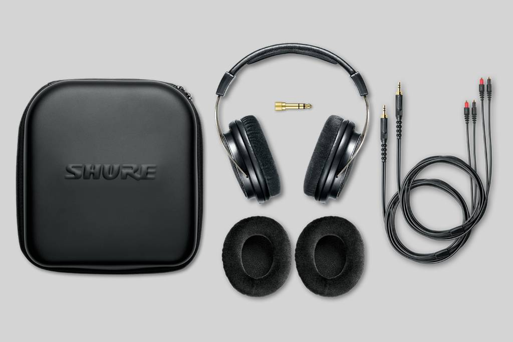 Illustration Shure SRH1840 Professional Open Back Headphones
