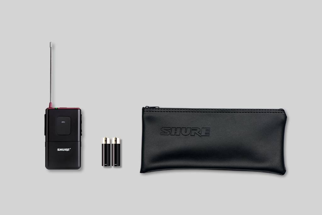 Illustration Shure Émetteur bodypack FP1