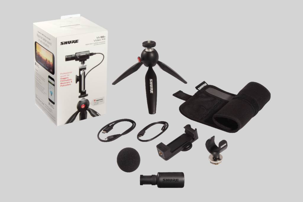 IIustracja Shure MV88+ Video Kit