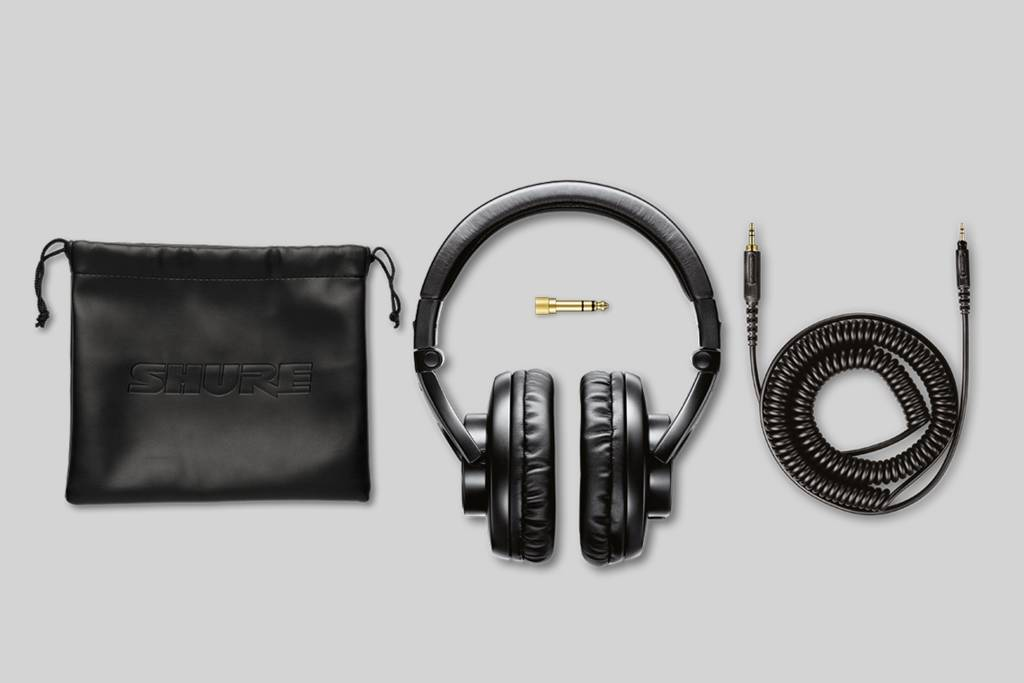 Illustration Shure SRH440 Professional Studio Headphones