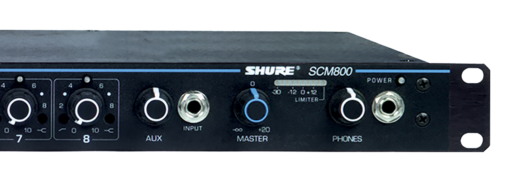 Illustration Shure SCM800 Eight Channel Microphone Mixer