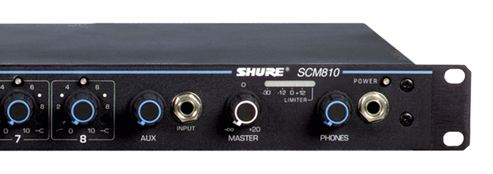 Illustration Shure SCM810 Eight Channel Automatic Mixer