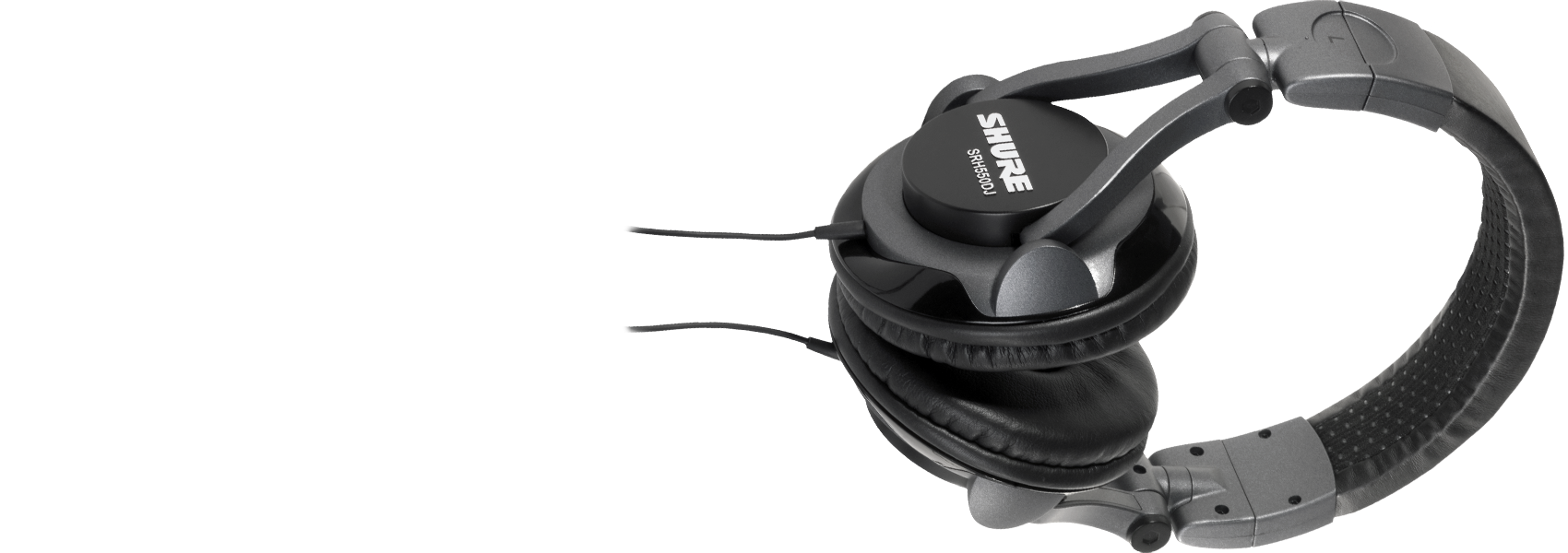 Illustration Shure SRH550DJ Professional Quality DJ Headphones