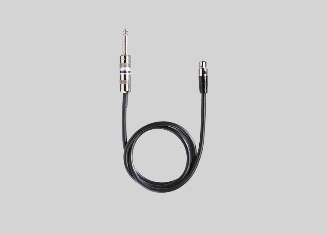 qlx d digital wireless system spider wire illustration shure wa302 instrument cable