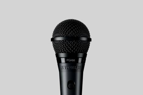 Illustration Shure PGA58-QTR-E