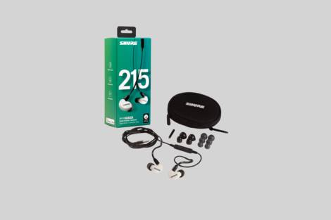 Illustration Shure SE215SPE-W-UNI-EFS
