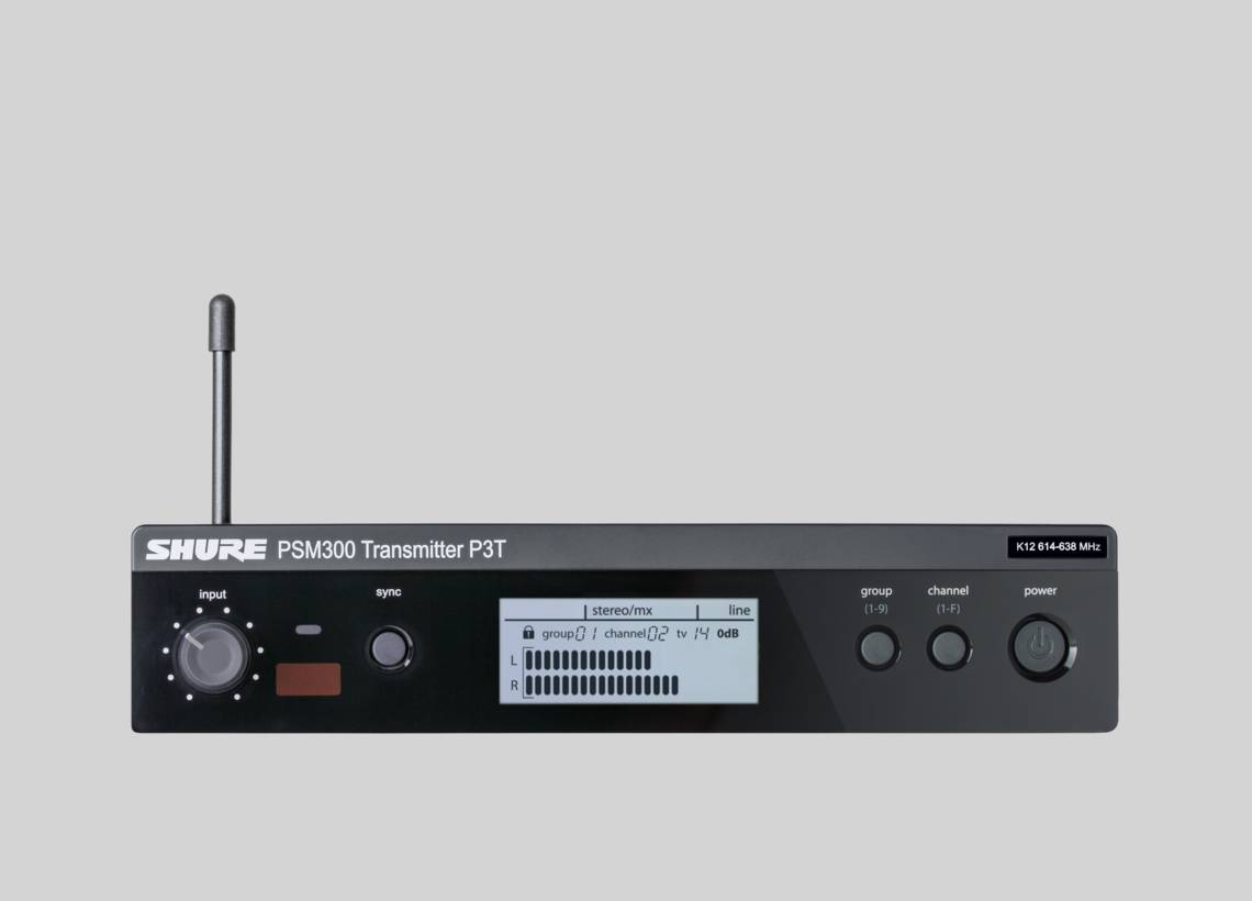 PSM®300 Stereo In-Ear Monitoring System