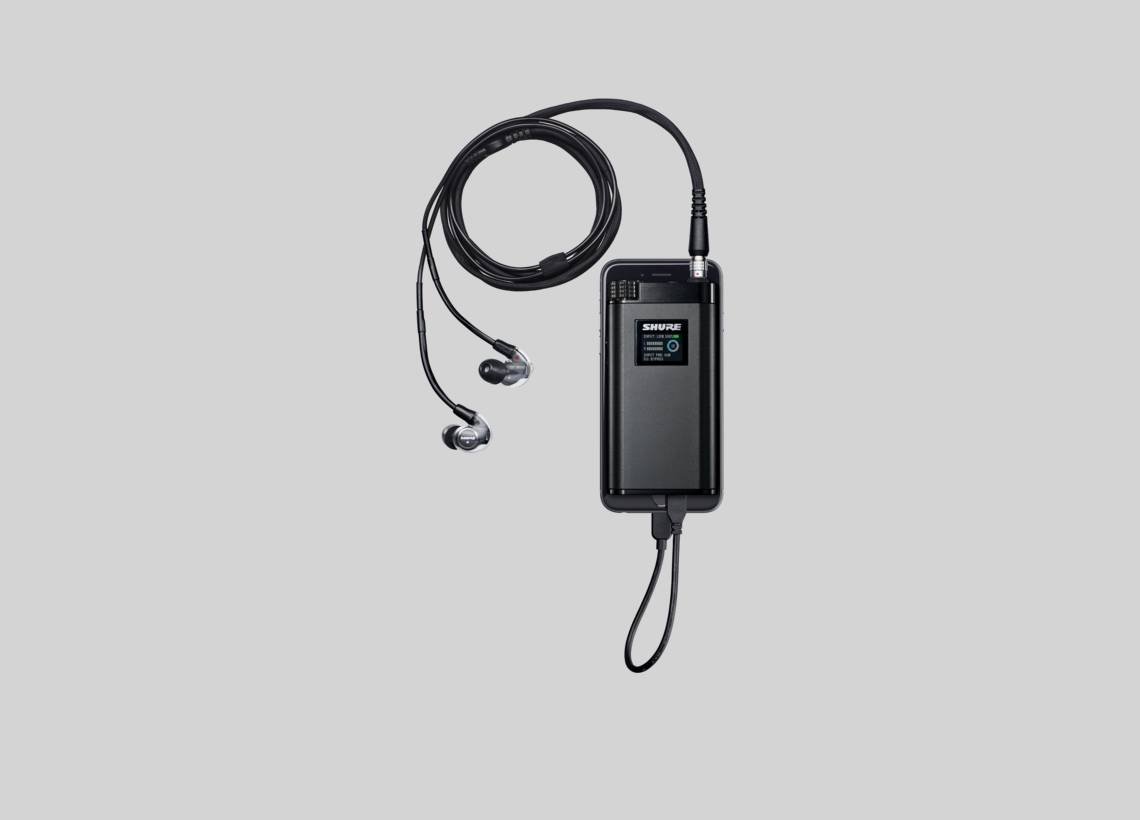 Illustration Shure KSE1500 Electrostatic Earphone System