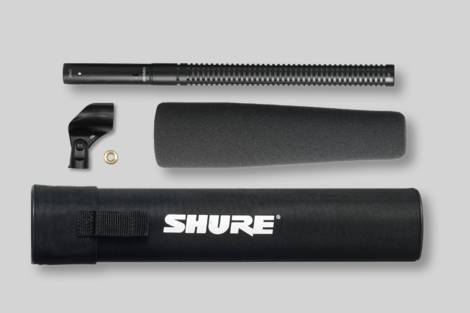 Abbildung Shure Medium Shotgun Microphone with Case & Foam Windscreen