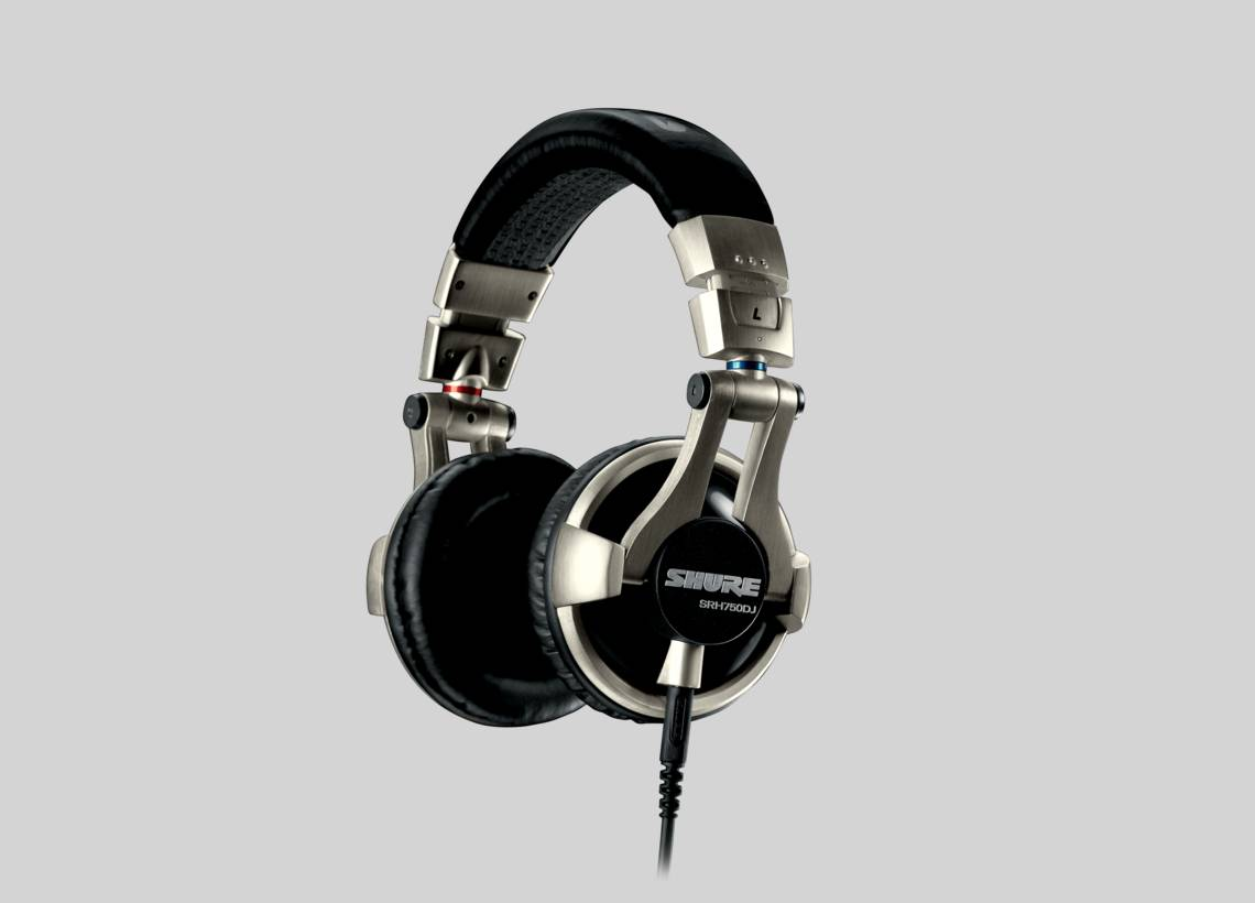 Illustration Shure SRH750DJ Professional DJ Headphones