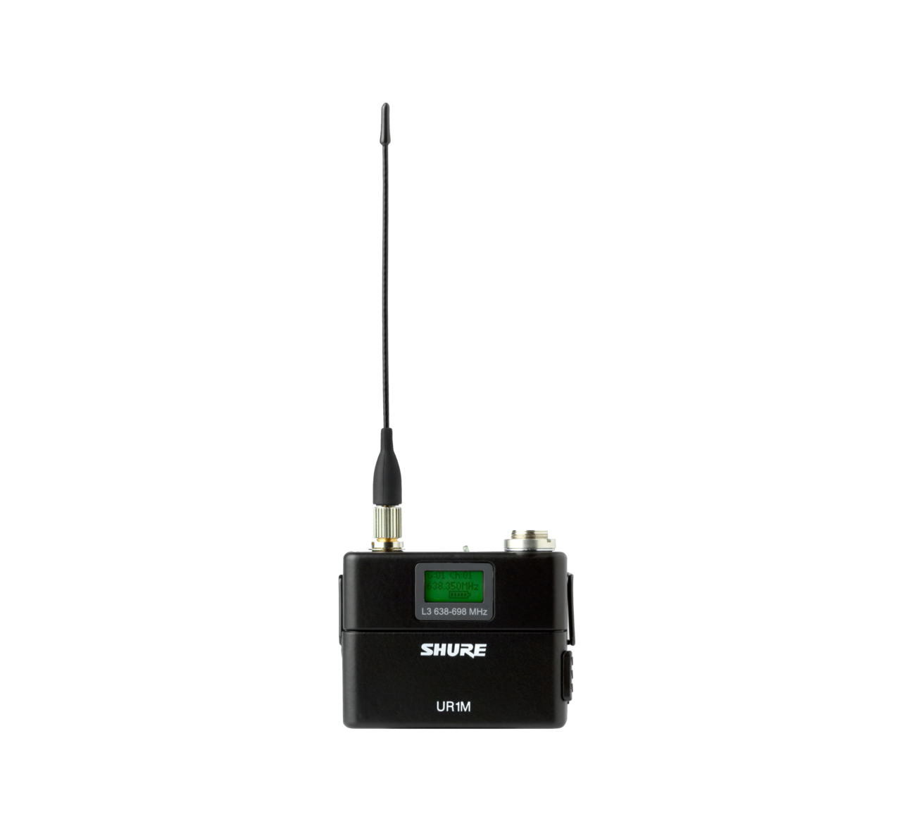 Shure UR1 L3 638-698MHz Compact Wireless Bodypack Transmitter Professional Audio