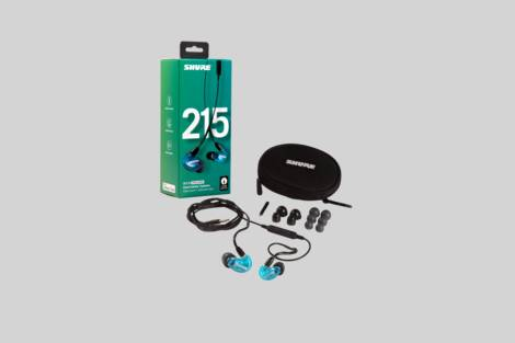 Illustration Shure SE215SPE-B-UNI-EFS