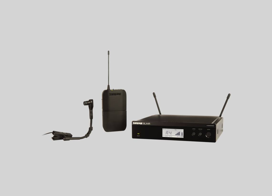 Illustration Shure BLX-R Rackable Wireless Systems