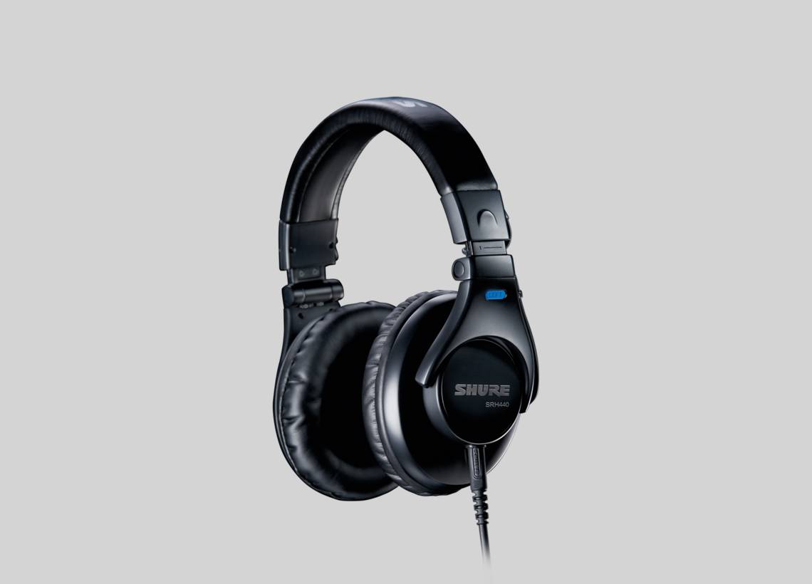 Illustration Shure SRH440 Professional Quality Headphones