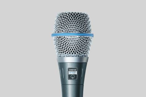 Abbildung Shure Beta 87A Vocal Microphone