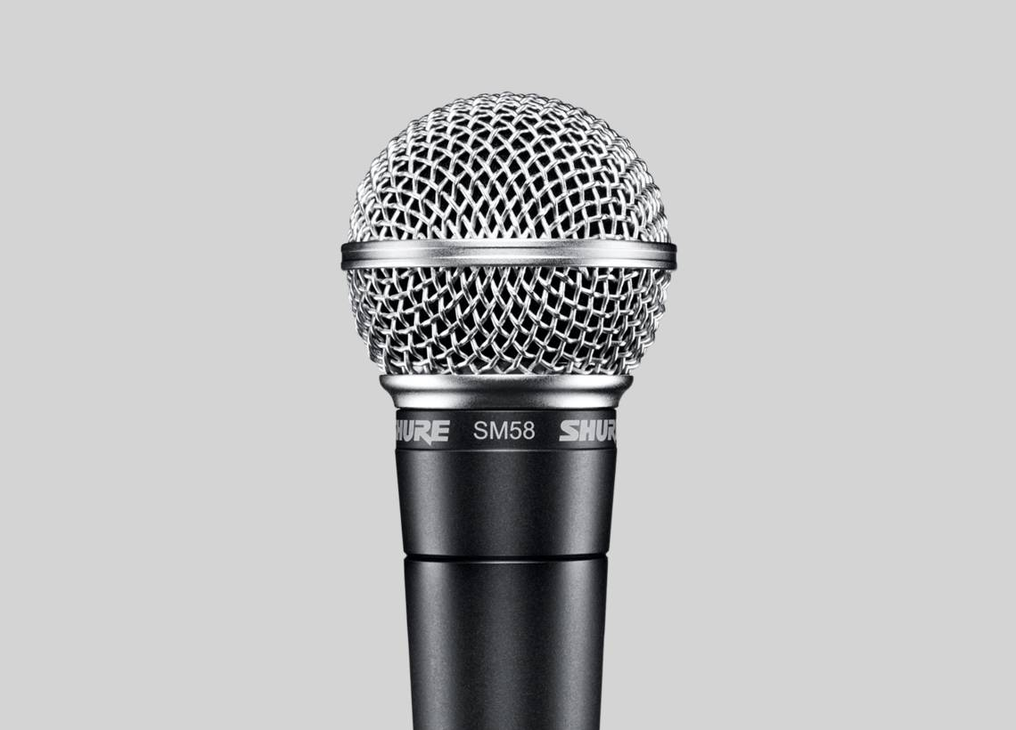 Sm58 The Legendary Vocal Microphone Carbon To Magnetic Mike Mic Converter Circuit