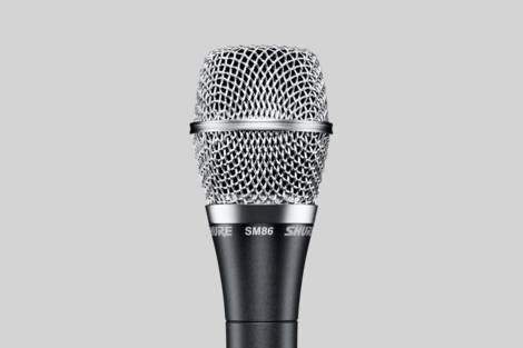 Illustration Shure SM86 Vocal Microphone