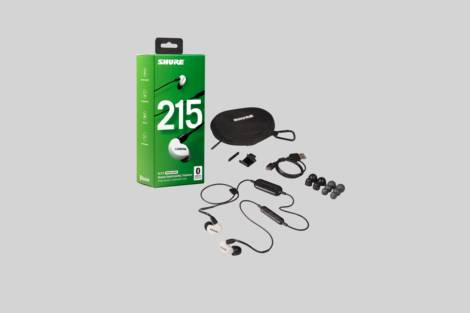 Illustration Shure SE215SPE-W-BT1-EFS