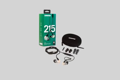 Illustration Shure SE215-CL-UNI-A