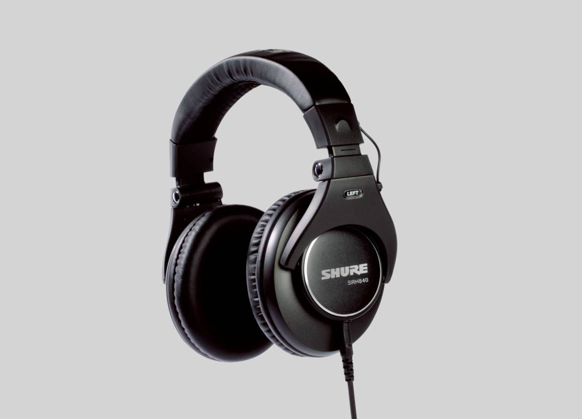 Illustration Shure SRH840 Reference Studio Headphones