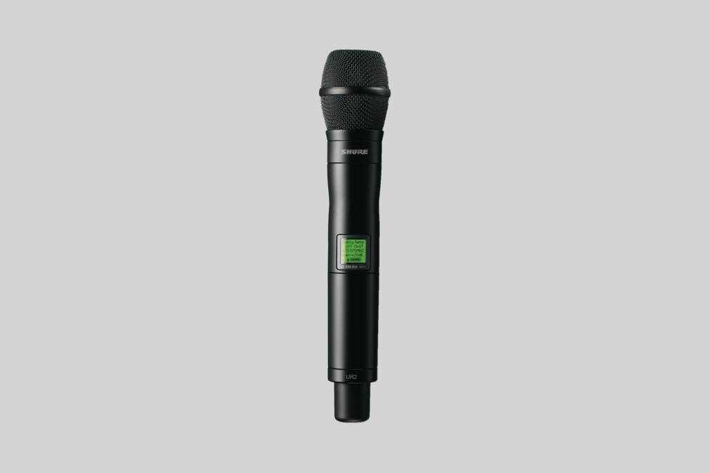 Illustration Shure Condenser Vocal Microphone