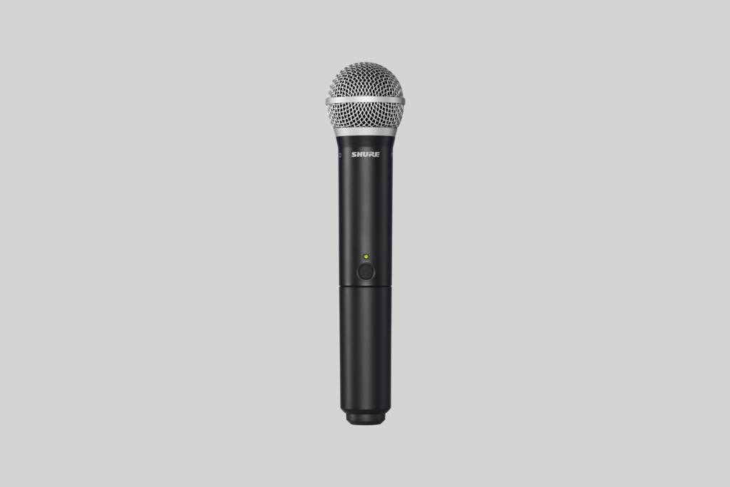 Illustration Shure PGA58 Cardioid Dynamic Vocal Microphone