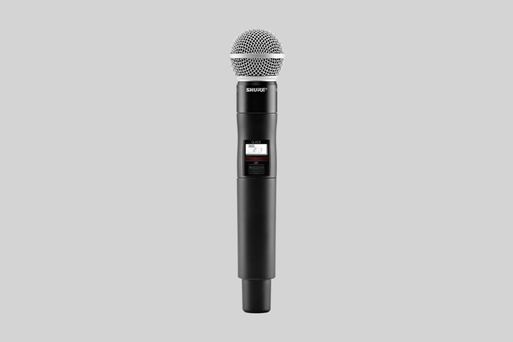 Illustration Shure SM58 The legendary vocal microphone