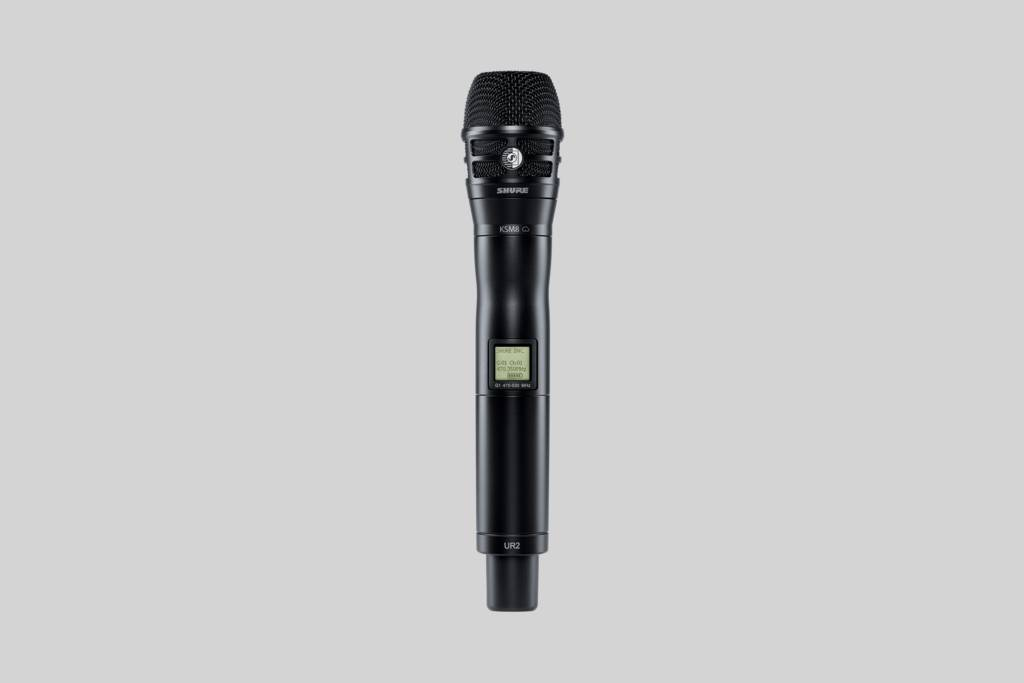 Illustration Shure KSM8 Dualdyne Cardioid Dynamic Vocal Microphone